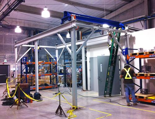 Fabricación y montaje de puentes grúa