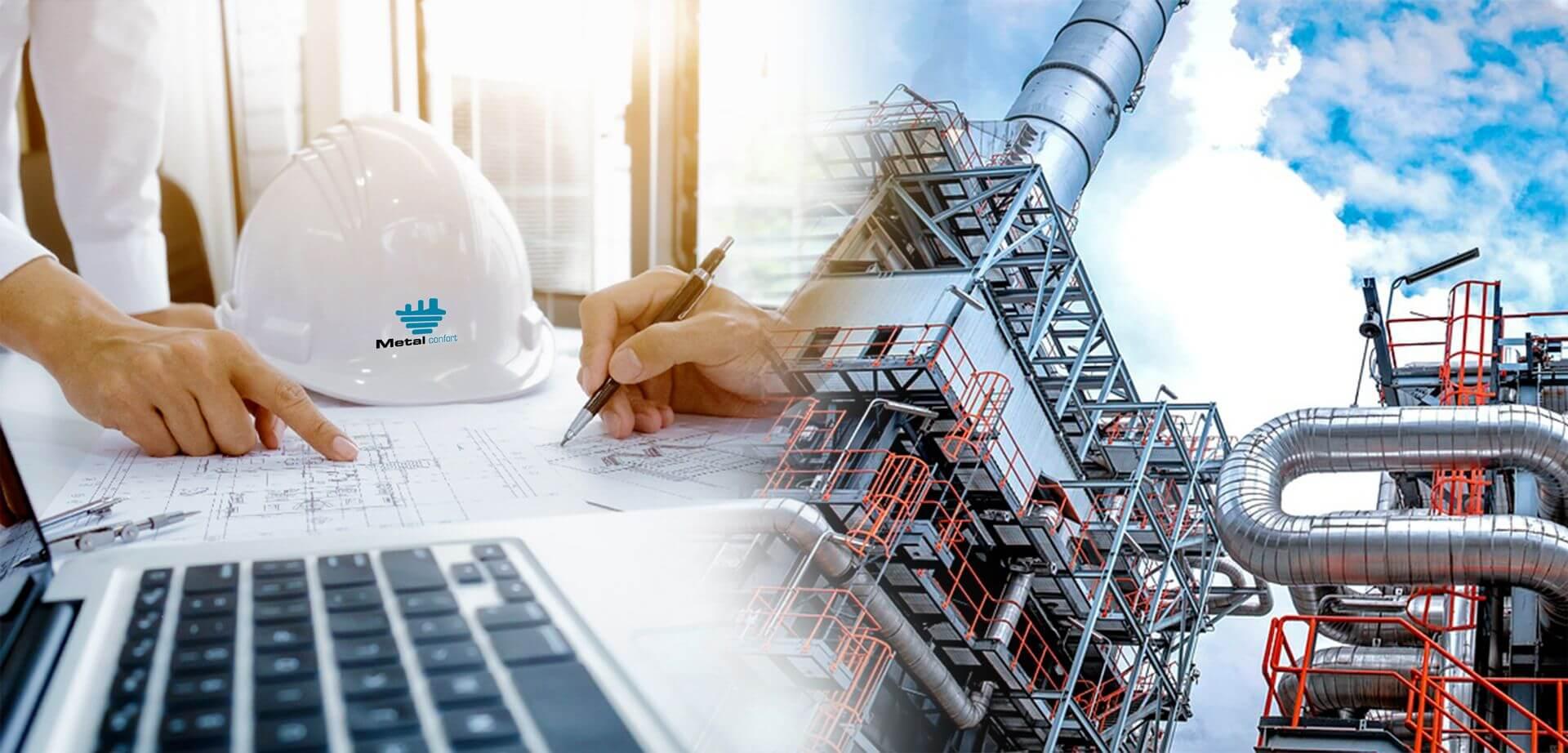 Desarrollo, fabricación y montaje de equipos mecánicos para la industria